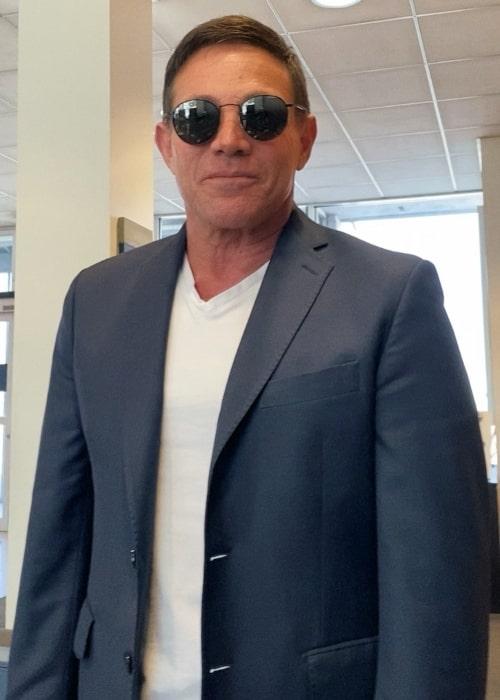 Jordan Belfort as seen in an Instagram Post in October 2018