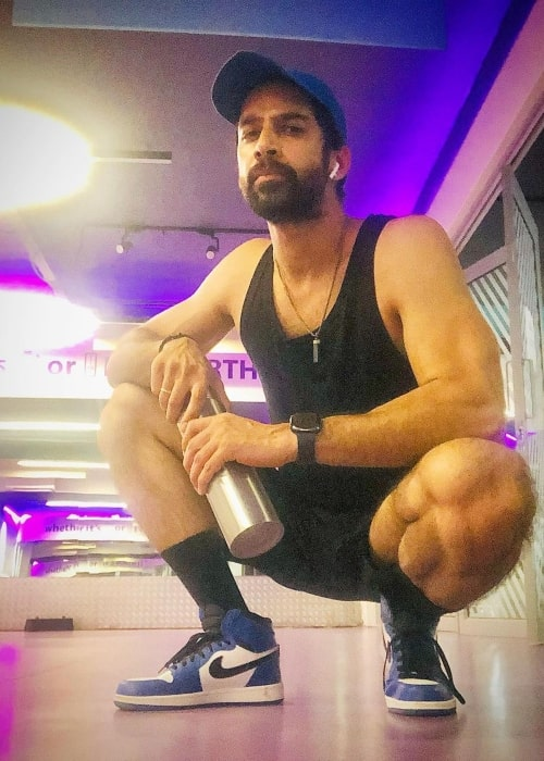 Karan Vohra as seen in a picture that was taken in Anytime fitness, New Delhi in July 2021