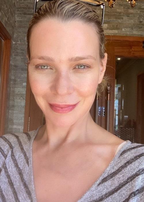 Laurie Holden as seen in a selfie that was taken in July 2021