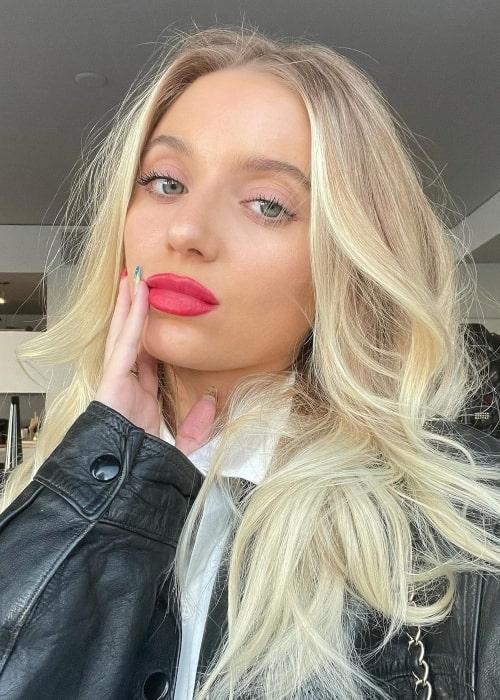 Lexie Jayy as seen in a selfie that was taken in September 2021