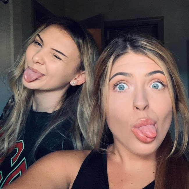 Maya Waters as seen in a selfie that was taken with Faith Blackburn in October 2019