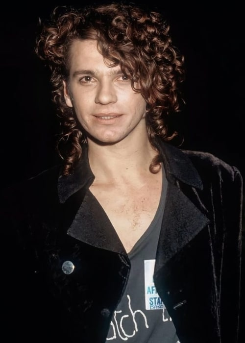 Michael Hutchence as seen in August 1988