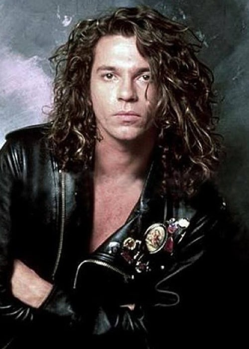 Michael Hutchence as seen in June 1991