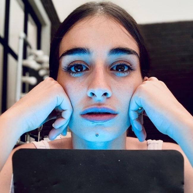 Michela De Rossi as seen in a picture that was taken in July 2021