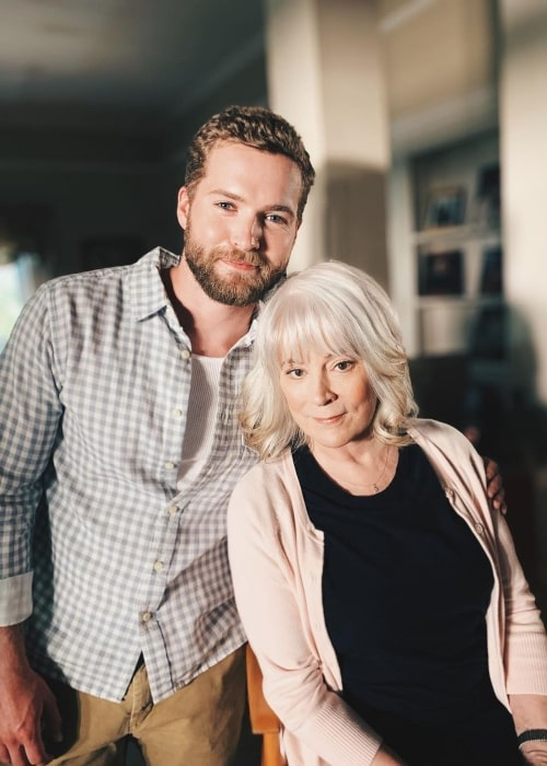 Patrick Johnson as seen in a picture that was taken with actress Patricia Richardson in June 2020