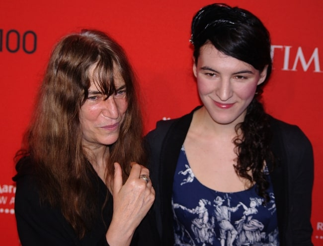 Patti Smith and her daughter Jesse Smith at the 2011 Time 100 gala