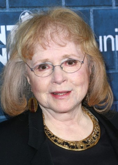 Piper Laurie as seen in an Instagram Post in March 2014