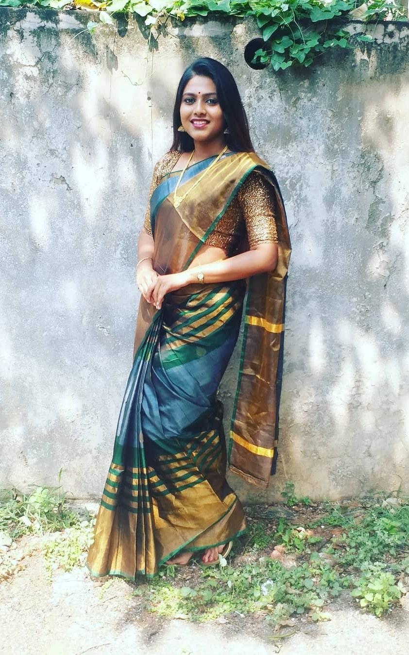 Praneeta Patnaik as seen in a picture that was taken in October 2018
