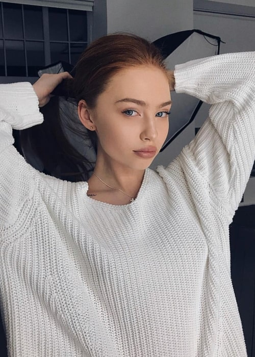 Renata Valliulina in a picture that was taken in Moscow, Russia in 2018