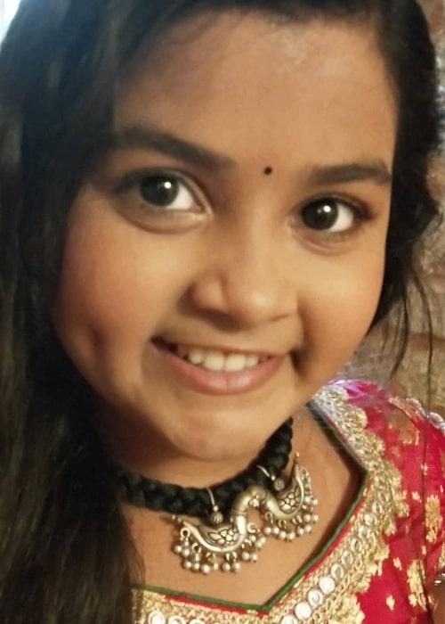 Shreya Patel as seen in a selfie that was taken in August 2021