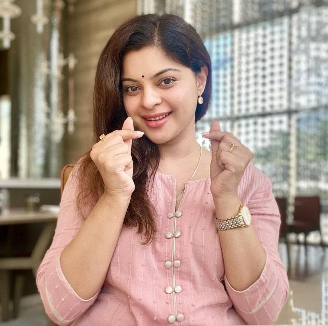 Sneha Wagh as seen in an Instagram post in August 2021
