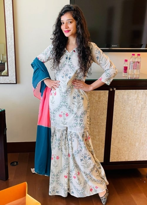 Sukirti Kandpal as seen in an Instagram Post in July 2021
