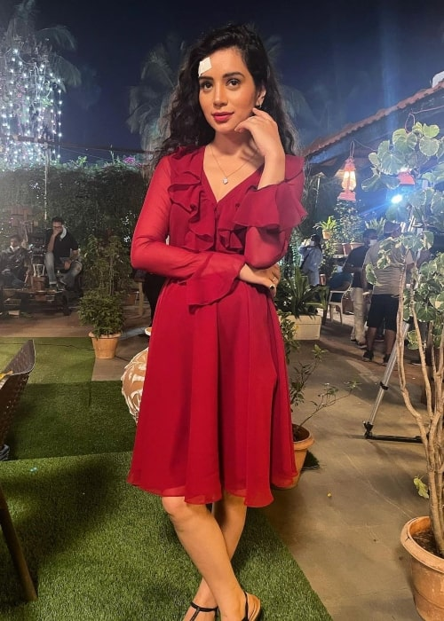 Sukirti Kandpal as seen in an Instagram Post in June 2021