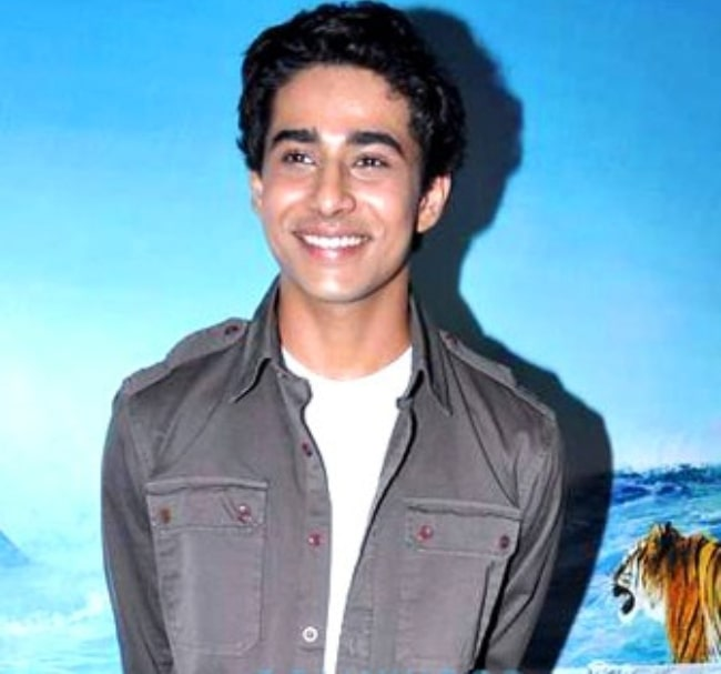 Suraj Sharma as seen while promoting 'Life of Pi' in 2012