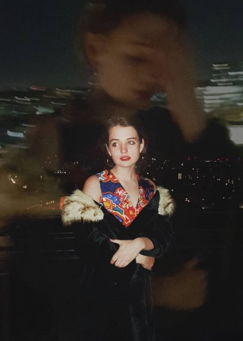 Tallulah Greive as seen in a picture that was taken in The Standard, London in Ocotober 2019