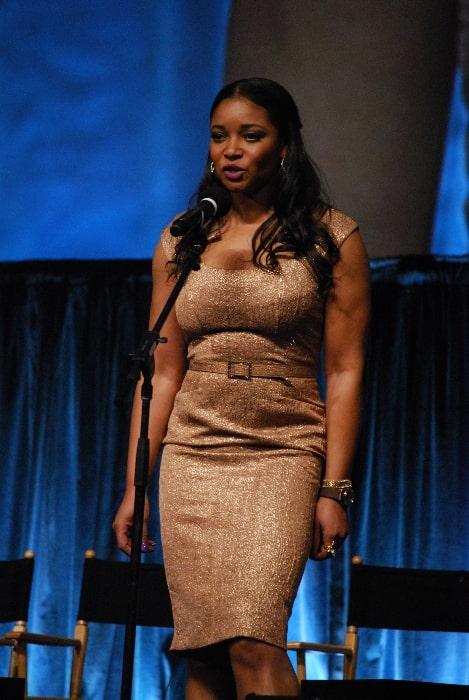 Tamala Jones as seen at Paleyfest 2012