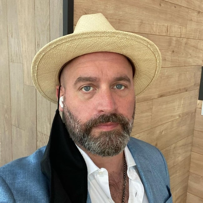 Tom Segura as seen while taking a selfie in August 2021
