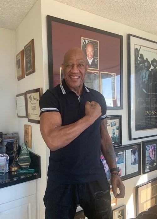 Tommy Lister Jr. as seen in an Instagram Post in January 2020