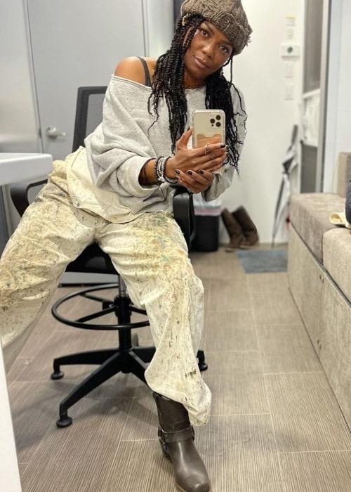 Vanessa Estelle Williams in a selfie that was taken in August 2021