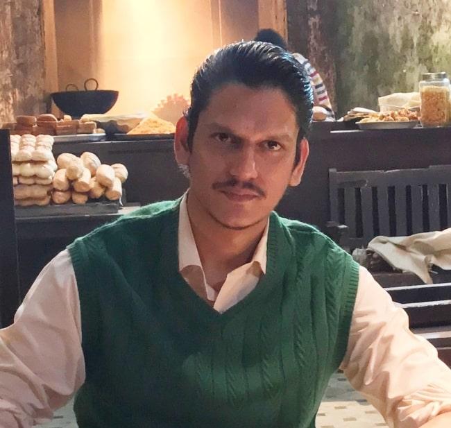 Vijay Varma playing investigative journalist Jamal Kidwai in the film 'Raag Desh'