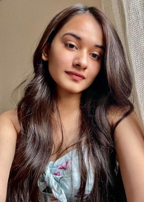 Virti Vaghani as seen in a selfie that was taken in April 2021
