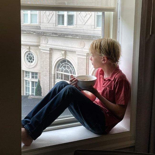 Wolfgang Schaeffer enjoying his last day in Atlanta in May 2021
