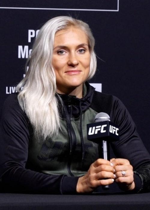 Yana Kunitskaya as seen in an Instagram Post in August 2021