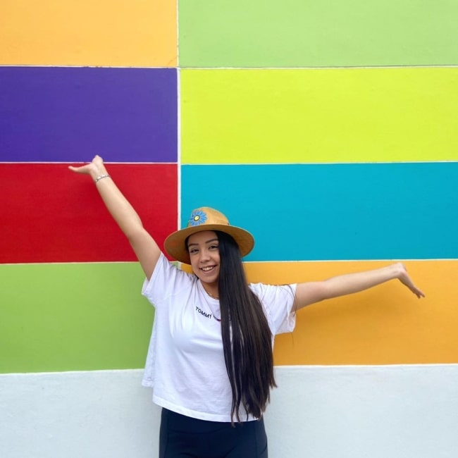 Yessica Rodriguez as seen in a picture that was taken in Morelia, Michoacán in August 2021