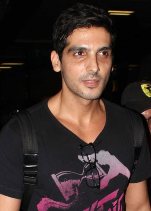 Zayed Khan as seen at the airport en route to IIFA 2013 in Macau