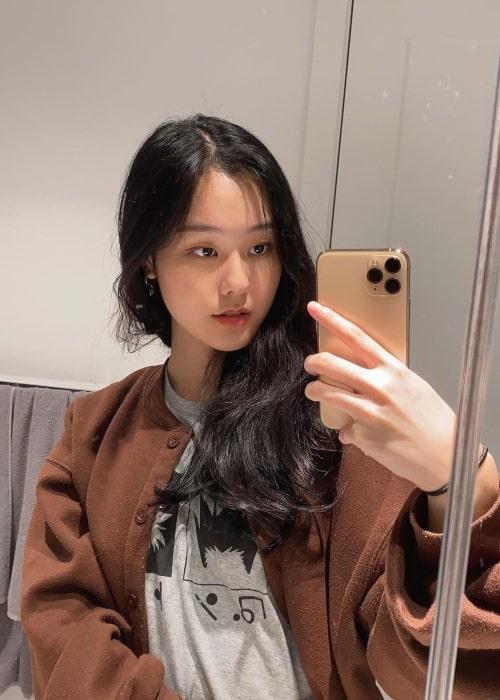 39daph as seen in a selfie that was taken in August 2021