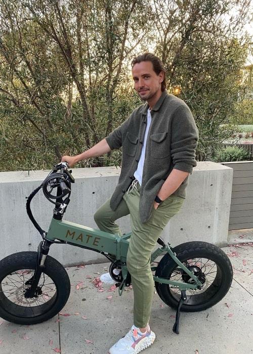 Alexander Gilkes as seen in an Instagram Post in July 2020