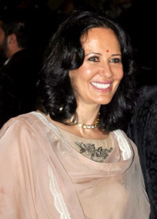 Ayesha Shroff as seen in a picture that was taken at the 60th Filmfare Awards