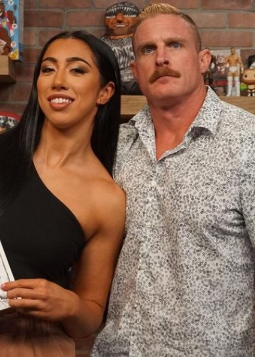 Dexter Lumis and Indi Hartwell, as seen in September 2021