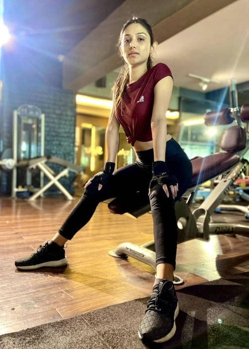 Donal Bisht as seen in a picture that was taken at Fitternity in August 2021