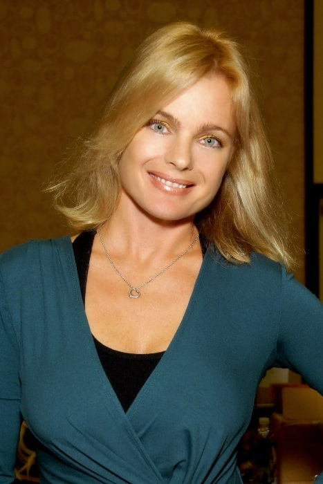 Erika Eleniak as seen in Los Angeles, California on October 1, 2011