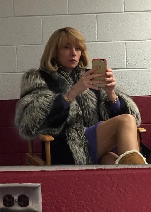Julianne Nicholson sharing her selfie in November 2017