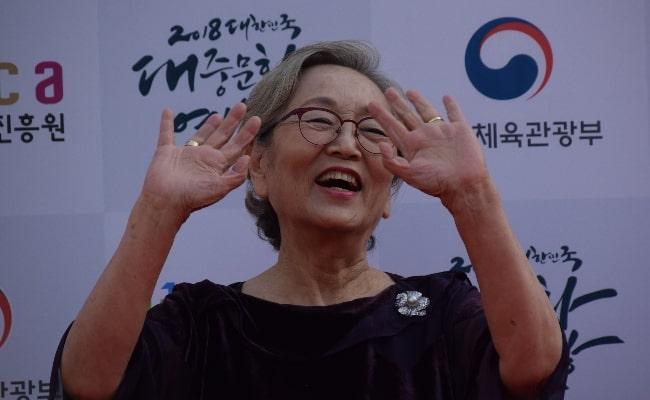 Kim Young-ok as seen in 2018