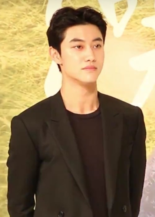 Kwak Dong-yeon as seen at the press conference for 'Love in the Moonlight' on August 18, 2016
