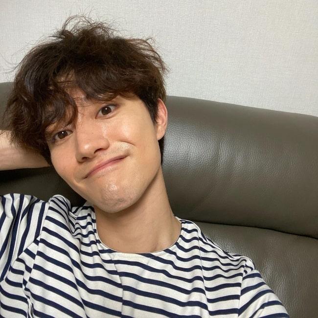 Kwak Dong-yeon as seen in an Instagram post in June 2020