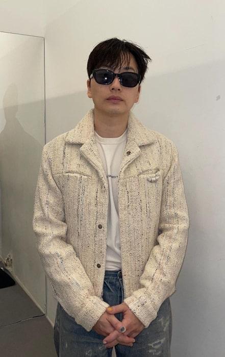 Lee Dong-hwi as seen in an Instagram post in September 2021