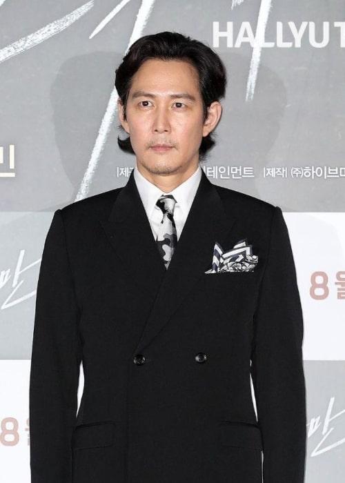 Lee Jung-jae as seen in an Instagram Post in June 2019