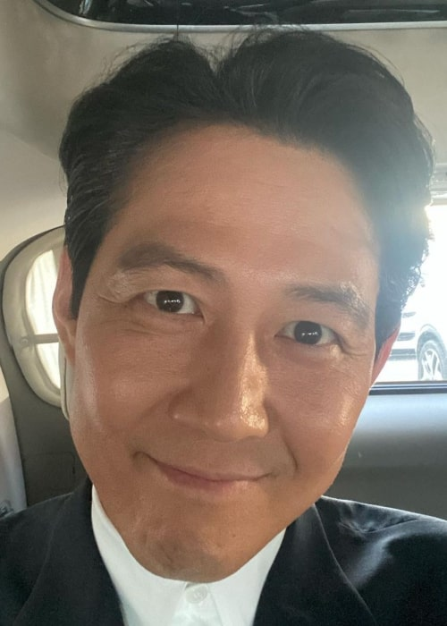Lee Jung-jae as seen in an Instagram Post in March 2021