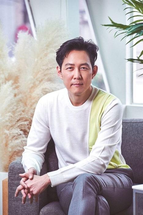 Lee Jung-jae as seen in an Instagram Post in May 2018