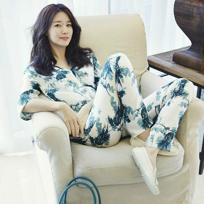 Lee Young-ae as seen in a picture that was taken in January 2018