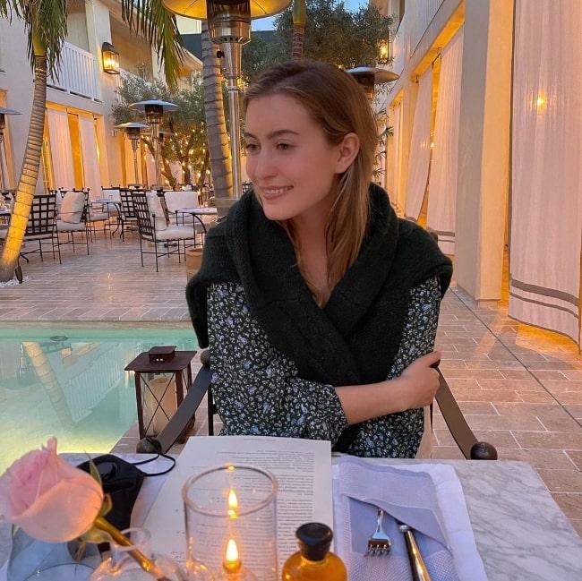 Olivia Macklin as seen while enjoying her weekend