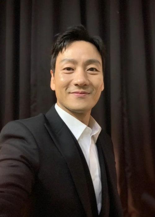 Park Hae-soo as seen in a selfie that was taken in October 2021
