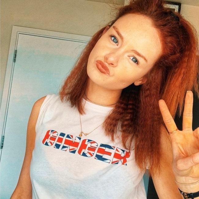 Rona Morison as seen in a selfie that was taken in June 2019