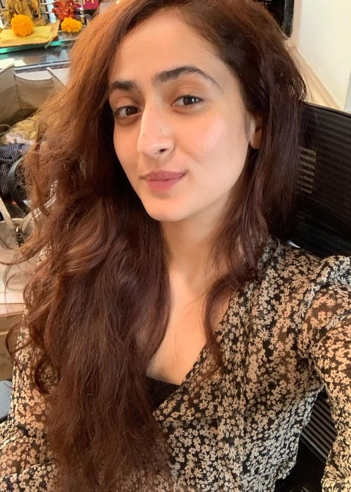 Ruchikaa Kapoor as seen while taking a selfie in September 2021