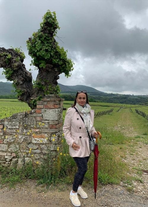 Soni Razdan as seen in a picture that was taken in July 2021