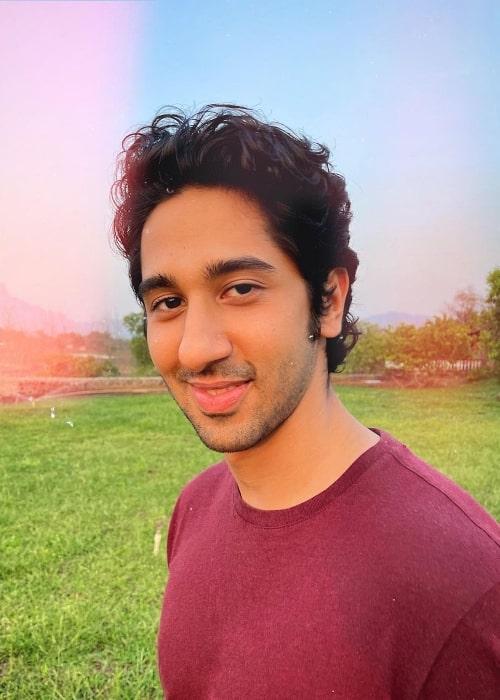Vihaan Samat as seen in an Instagram post in August 2021